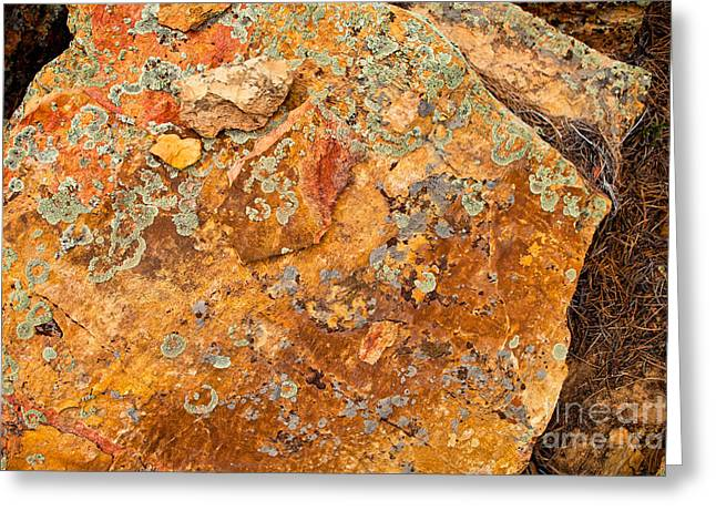 Rock Abstract II Greeting Card