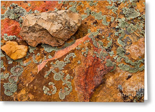 Rock Abstract IIi Greeting Card