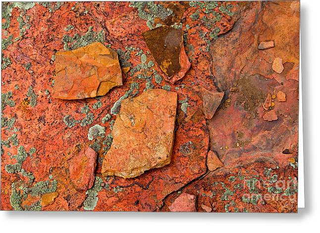 Rock Abstract Iv Greeting Card