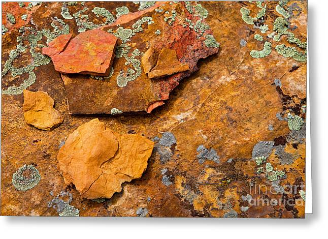 Rock Abstract V Greeting Card