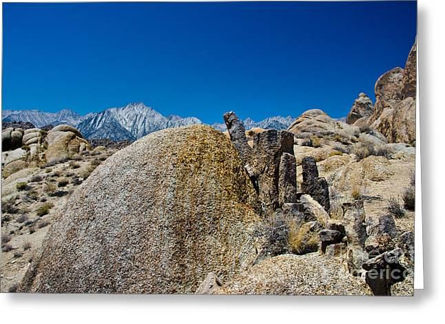Rock Art Greeting Card by Baywest Imaging