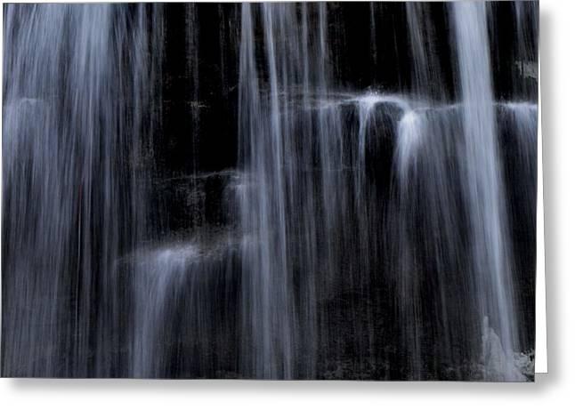Rock Glen Water Falls Greeting Card