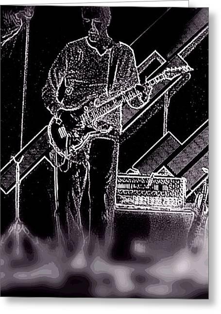 Rock It Greeting Card by David Alvarez