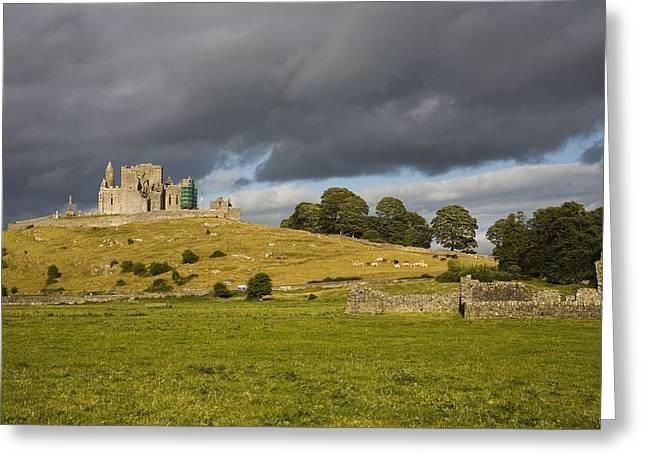 Rock Of Cashel, Cashel, County Greeting Card by Richard Cummins
