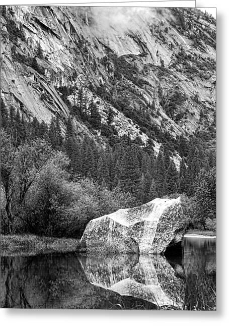 Rock Reflection Greeting Card by Jason Abando