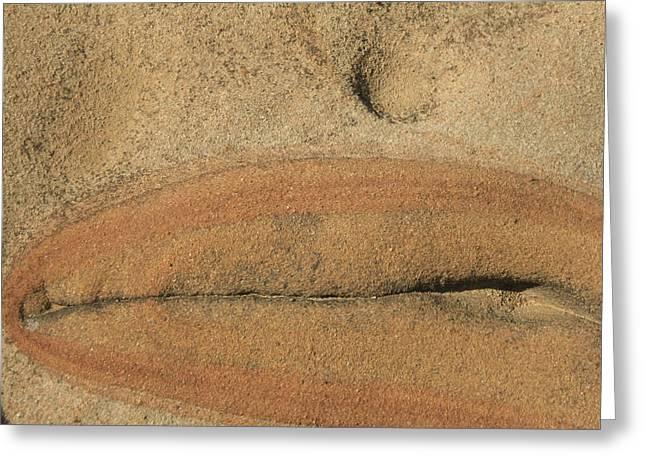 Rock Sculpture Greeting Card