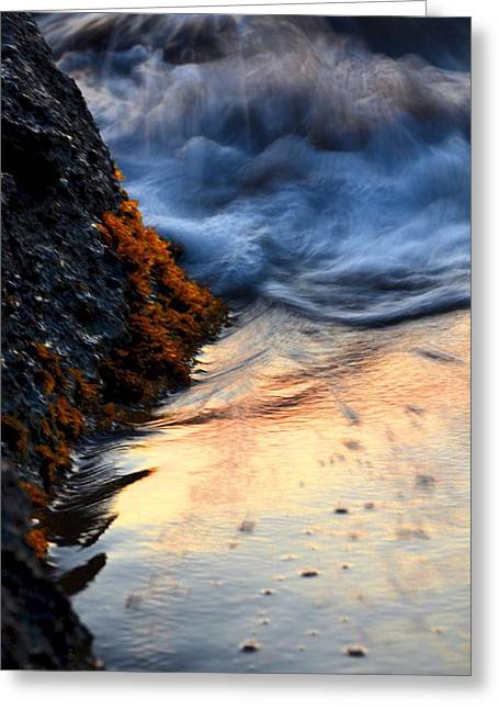Rock Sunset Greeting Card