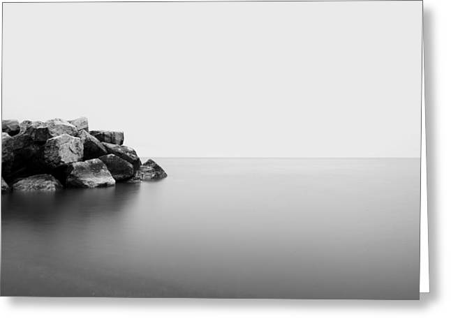 Rock Water One Greeting Card