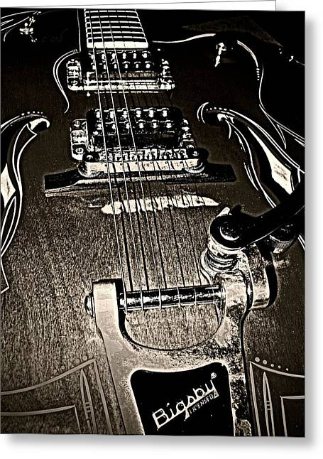 Rockabilly  Greeting Card by Chris Berry