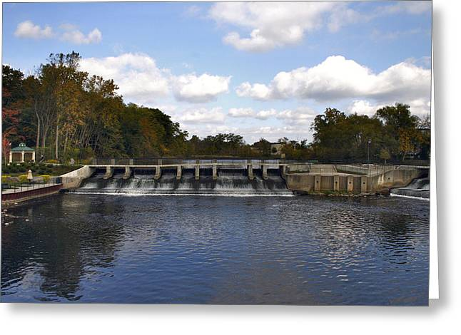 Rockford Dam Greeting Card