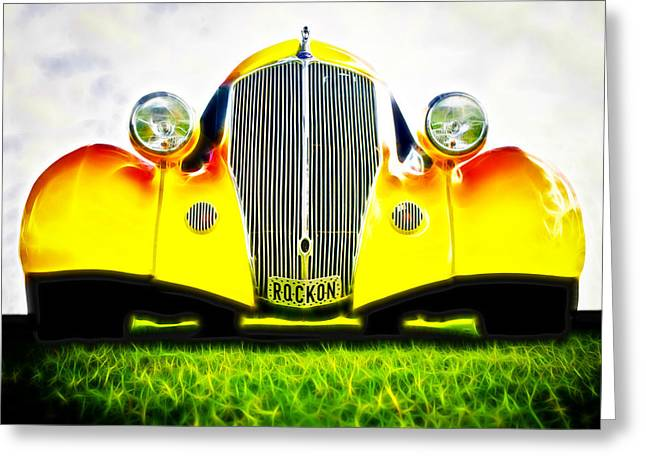 Rockon Rod Greeting Card by Phil 'motography' Clark