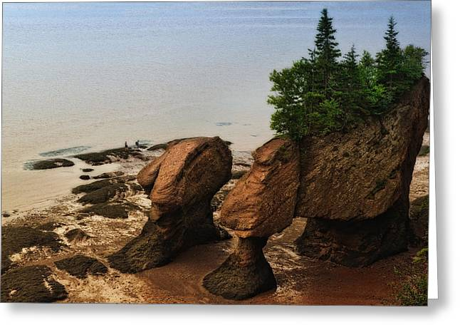 Rocks Of Ages Greeting Card