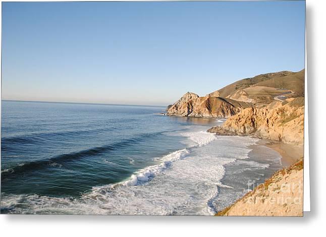 Rocky Pacific Coast Greeting Card