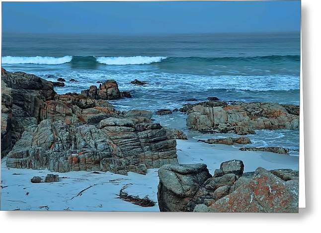 Greeting Card featuring the photograph Rocky Shores by Renee Hardison
