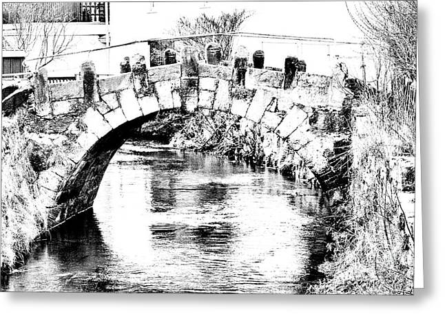 Roeder Bridge Greeting Card by Bodo Herold