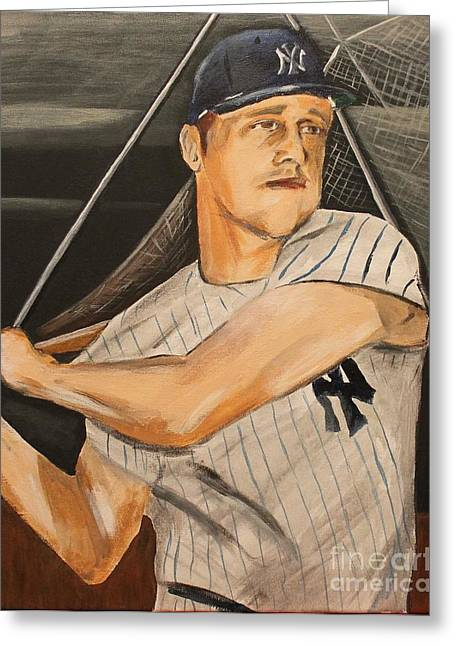 Roger Eugene Maris  Greeting Card