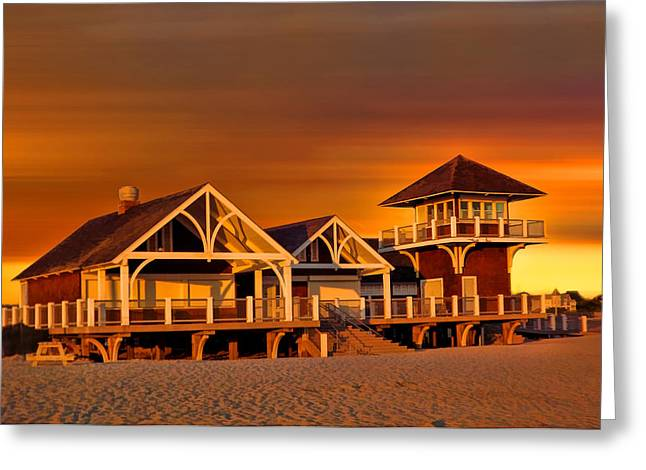 Roger W. Wheeler State Beach Greeting Card