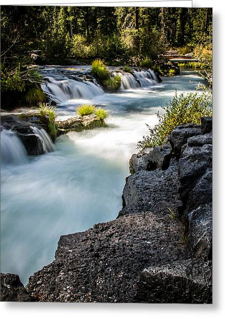 Greeting Card featuring the photograph Rogue River - 2 by Randy Wood