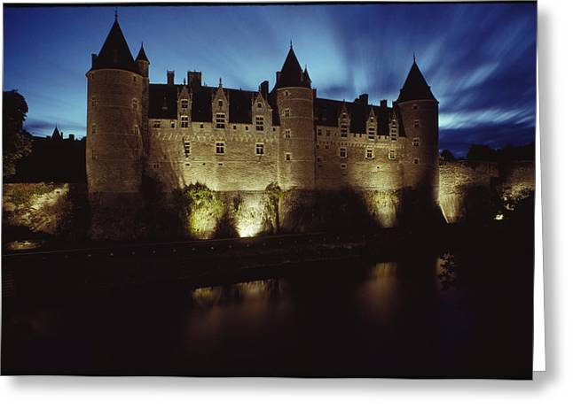 Rohan Castle, Occupied By The Rohan Greeting Card by James L. Stanfield