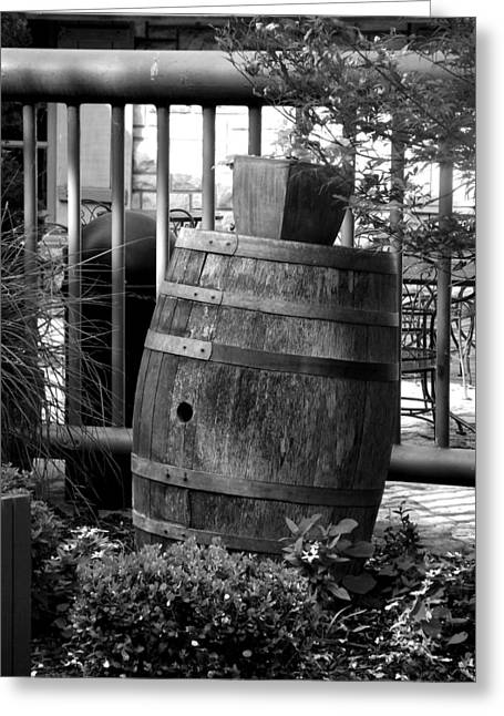 Roll Out The Barrel Greeting Card by Shelley Blair