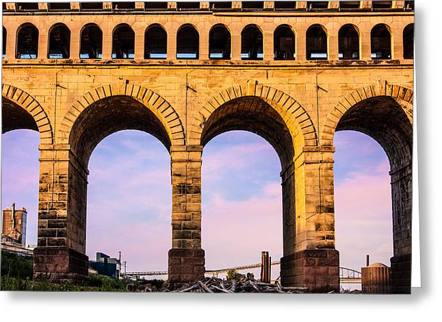 Roman Arches Greeting Card