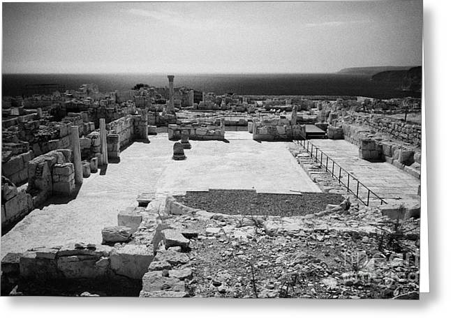 Archeological sites greeting cards page 10 of 25 fine art america roman forum agora at kourion republic of cyprus europe greeting card m4hsunfo