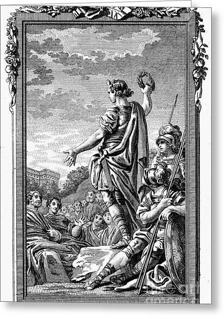 Roman Orator Greeting Card by Granger
