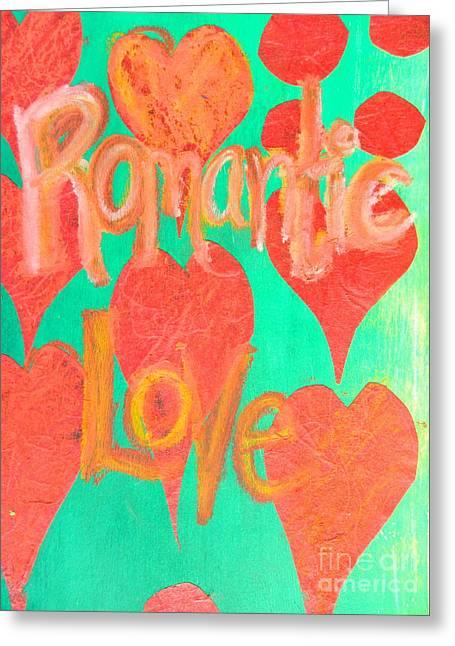 Romantic Love Greeting Card