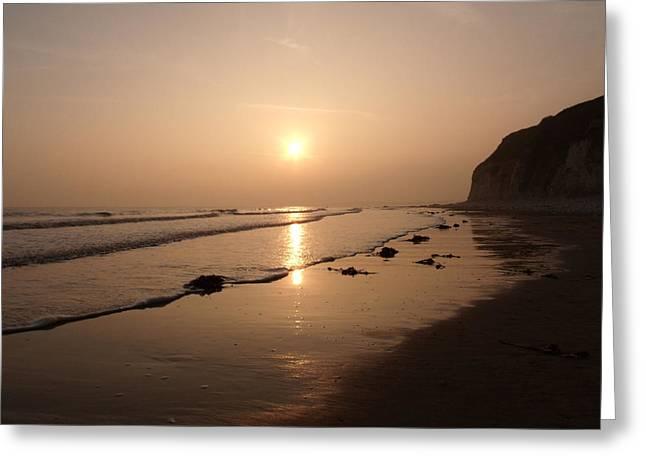 Romantic Sunset Greeting Card