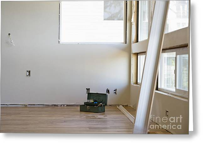 Room Remodeling Greeting Card by Andersen Ross