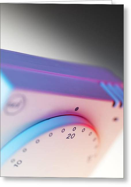 Room Thermostat Greeting Card