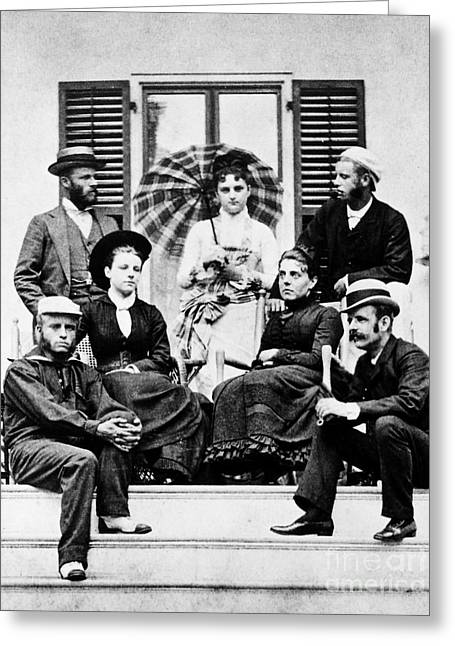 Roosevelt Family 1878 Greeting Card