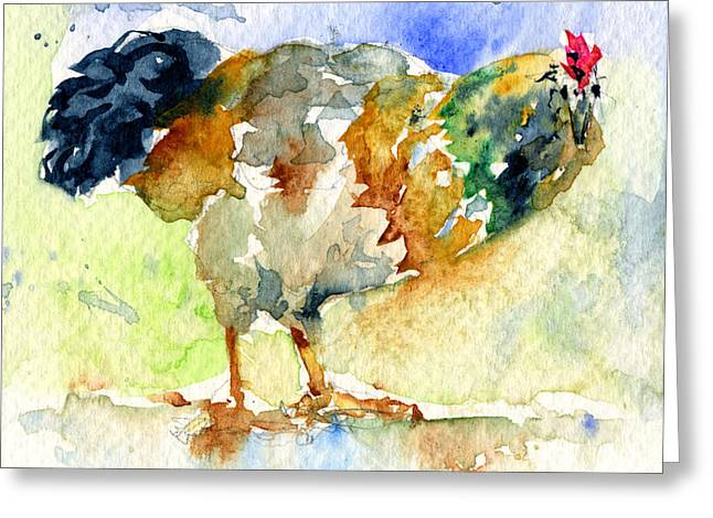 Rooster 1 Greeting Card