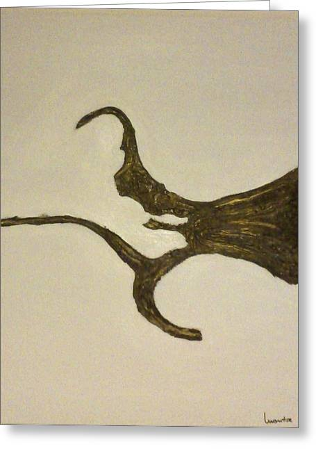 Roots Greeting Card by Montserrat Lopez Ortiz