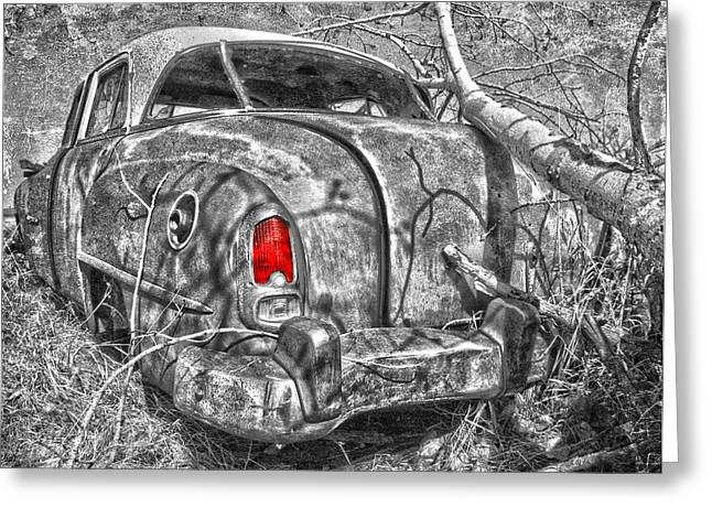 Roots Of A Journey  Greeting Card by Jerry Cordeiro