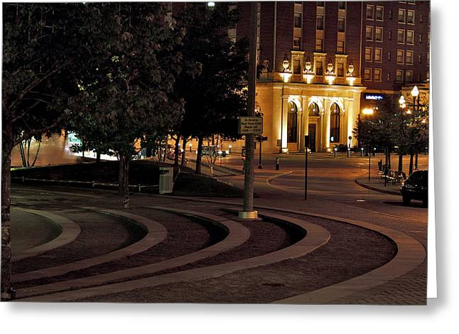 Rosa Parks Circle Greeting Card by Richard Gregurich