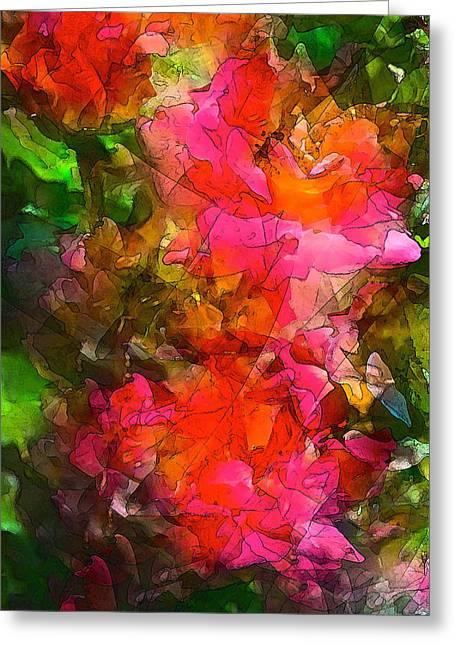 Rose 147 Greeting Card by Pamela Cooper