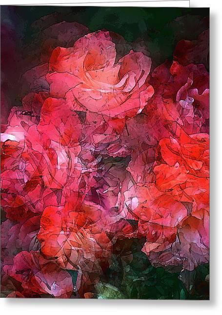 Rose 148 Greeting Card by Pamela Cooper