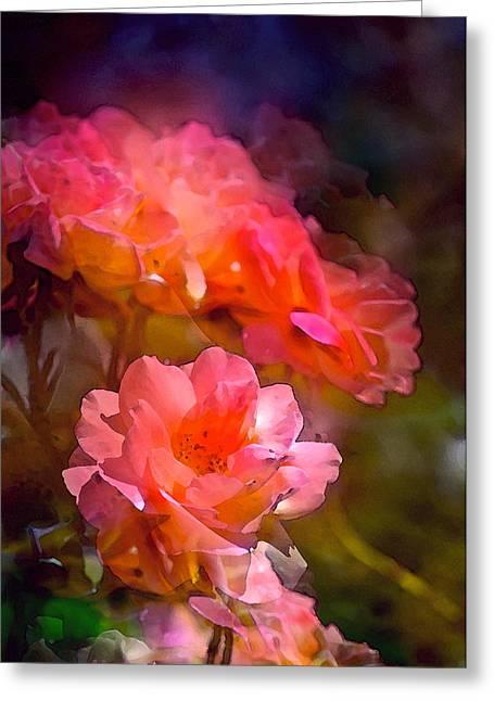 Rose 150 Greeting Card by Pamela Cooper