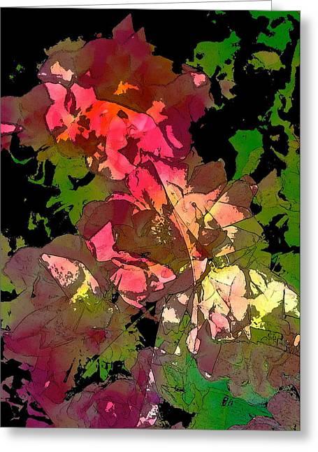 Rose 153 Greeting Card by Pamela Cooper