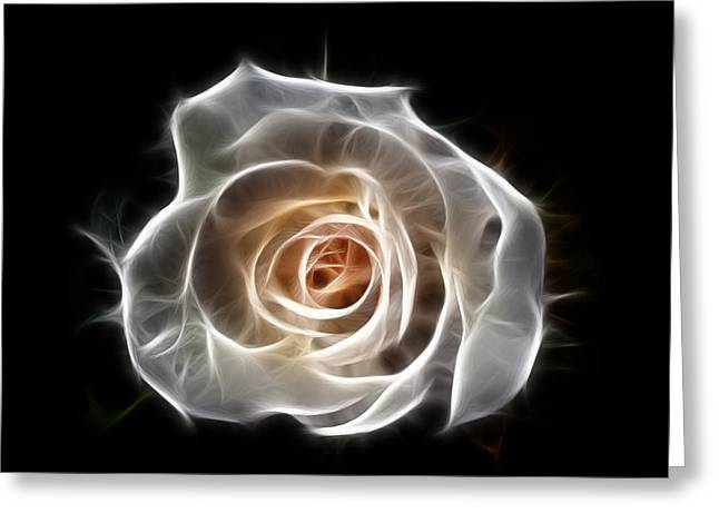 Rose Of Light Greeting Card