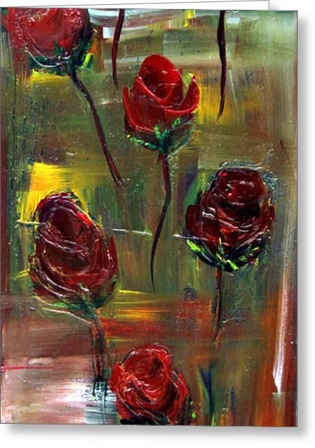 Roses Free Greeting Card