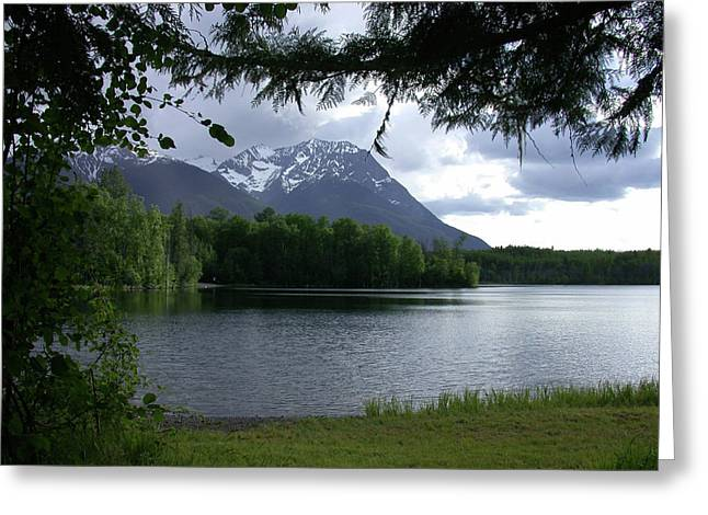 Ross Lake Greeting Card