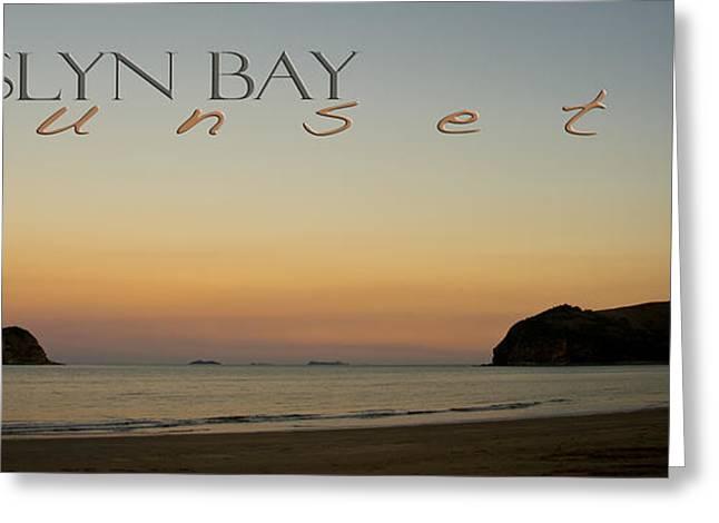 Rosslyn Bay Sunset Greeting Card by Vicki Ferrari