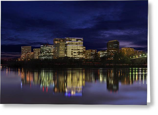 Rosslyn Skyline Greeting Card