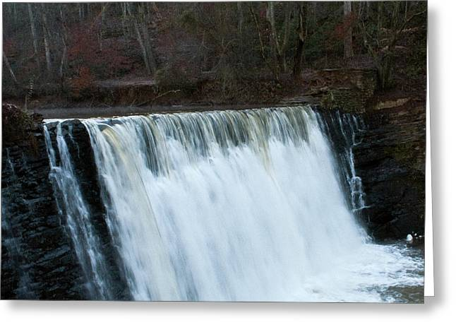 Roswell Falls Greeting Card