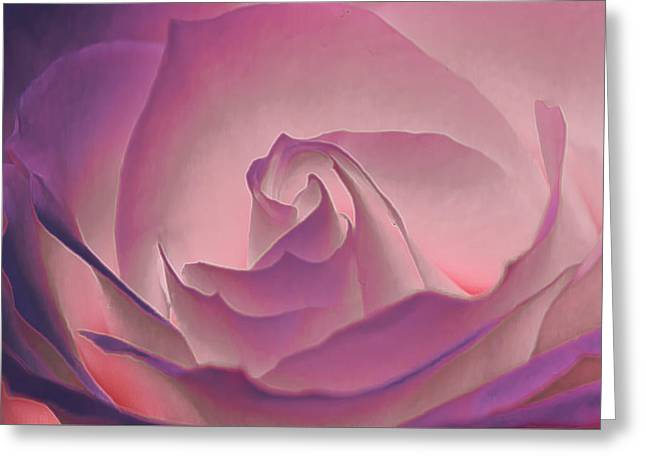 Rosy Daydreamer Greeting Card
