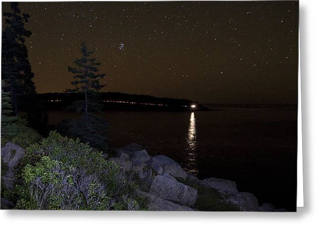 Greeting Card featuring the photograph Rounding Otter Point by Brent L Ander