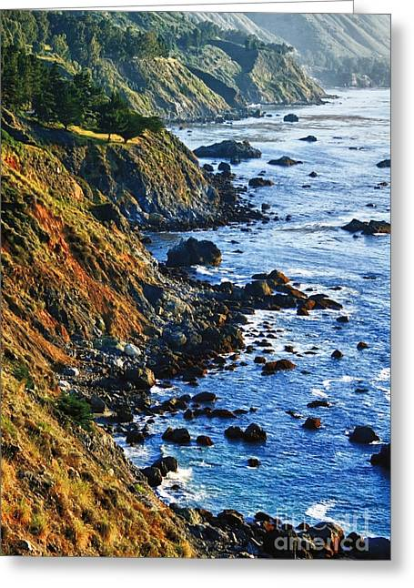 Route 1 Coastline Greeting Card