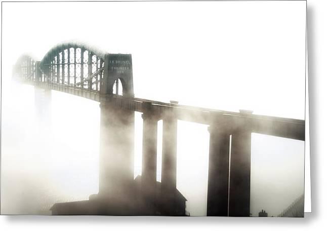 Royal Albert Bridge Greeting Card by Xenia Seurat